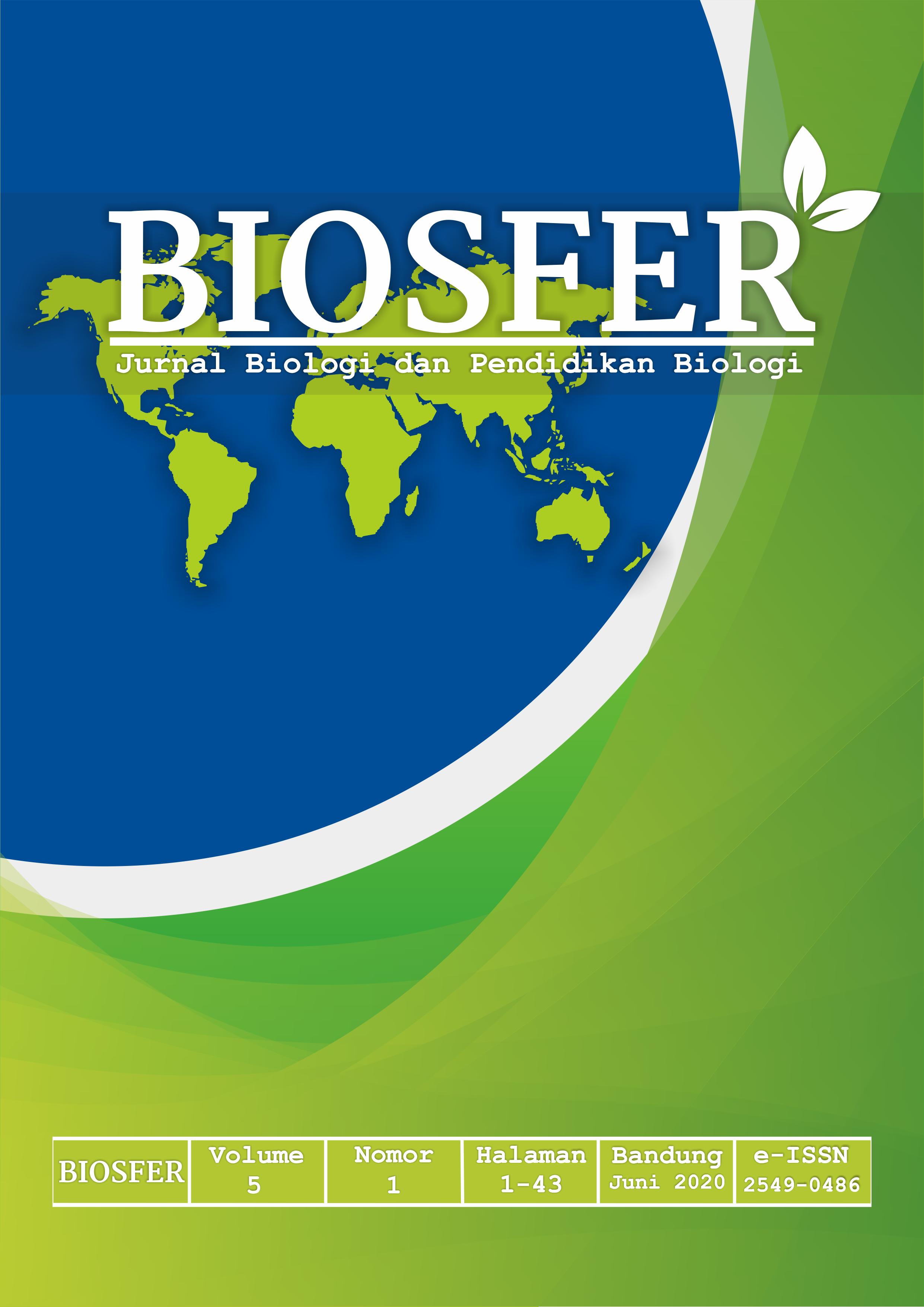 Jurnal Skripsi Biologi / Contoh Penelitian Tentang Biologi ...